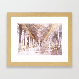 Palace Ballroom Framed Art Print