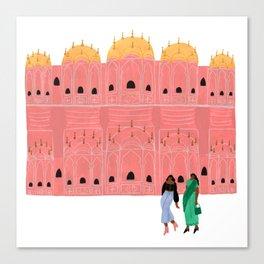 Hawa Mahal Canvas Print