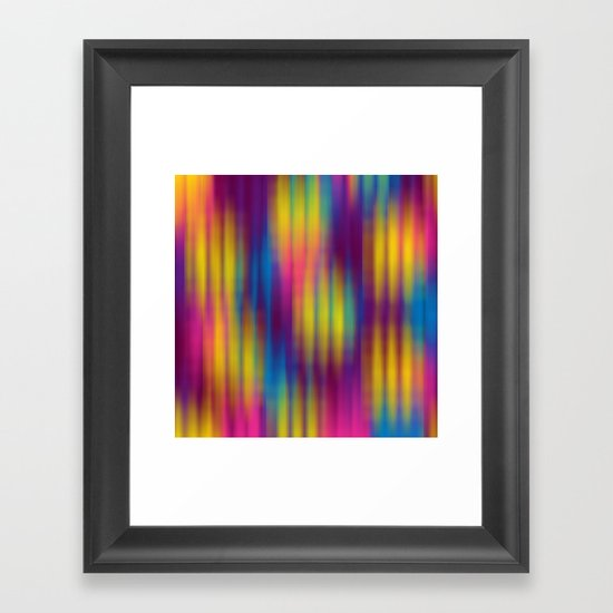 Color Chaos  Framed Art Print