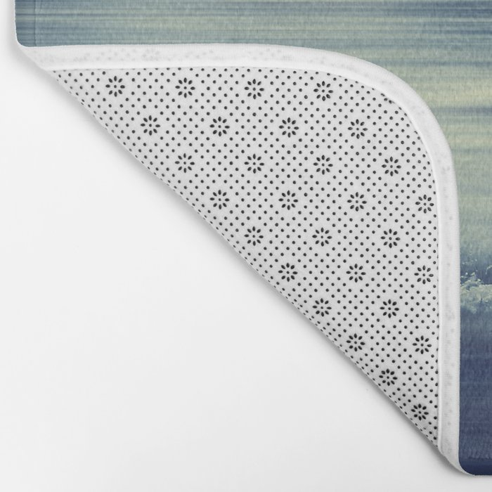 seaStream - abstract seascape Bath Mat