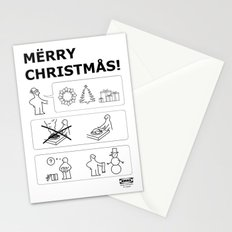 How To Have A Merry Christmas Stationery Cards