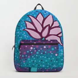 You Can and You Will - Lotus Backpack
