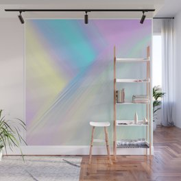 Cosmic Light Reflection Wall Mural