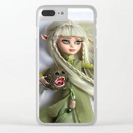 Custom Kira doll Clear iPhone Case