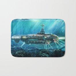 Steampunk Submarine Bath Mat