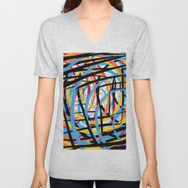 Time and Space Unisex V-Neck