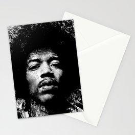 HENDRIX (BLACK & WHITE VERSION) Stationery Cards
