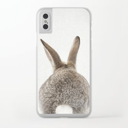 Bunny Tail Clear iPhone Case