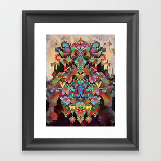 Dæmon [treatment 1] Framed Art Print