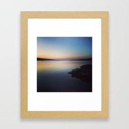 Evening Peace Framed Art Print