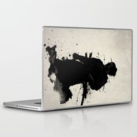 samurai Laptop & iPad Skins featuring Samurai by Nicklas Gustafsson