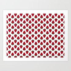 Strawberries II Art Print