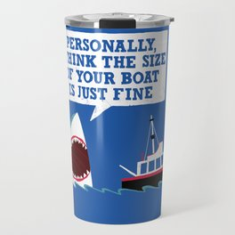 Polite Jaws Travel Mug