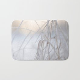 Beautiful Winter Morning Bath Mat