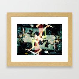 Mick of Outerhope Framed Art Print