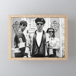 Ferris Bueller's Day Off Movie - Funny Poster Print - ChezLuis 80's Comedy Framed Mini Art Print