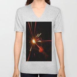 Star Burst Unisex V-Neck