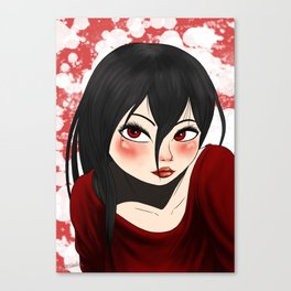 Girls (#3) Canvas Print