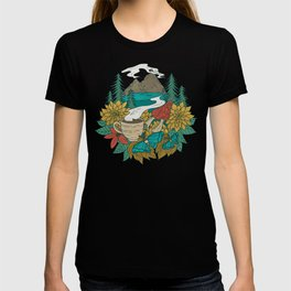 Pacific Northwest Coffee and Nature T-shirt