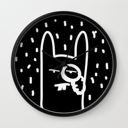 Bourgeois  Bunny  Wall Clock
