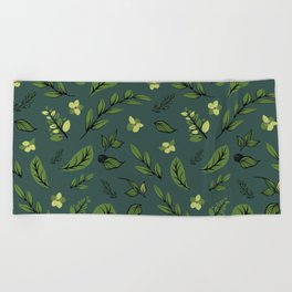 Flower Design Series 8 Beach Towel