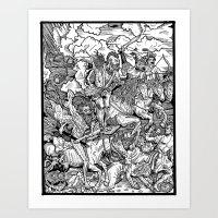 Cromnarok. Art Print