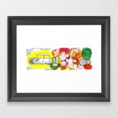 Mini Cooper Classic (ADO15) Framed Art Print