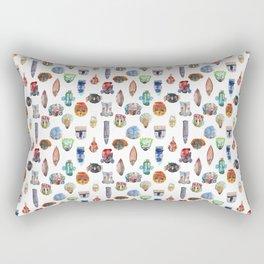 Multi Masking Rectangular Pillow