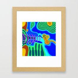 Music - The Elements - Air Framed Art Print