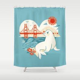 I Heart San Francisco Shower Curtain