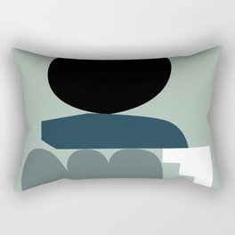 Shape study #19 - Stackable Collection Rectangular Pillow