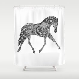 Paisley Pace Shower Curtain