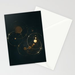 Day 1127 /// Cosmic Volume Overlap Stationery Cards