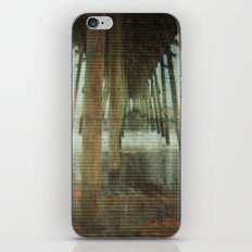 Kure Beach North Carolina Fishing Pier iPhone & iPod Skin