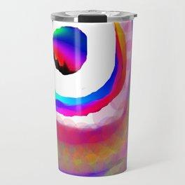 Space Rainbow Travel Mug