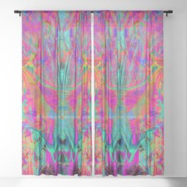The Winged Cathedral Sheer Curtain