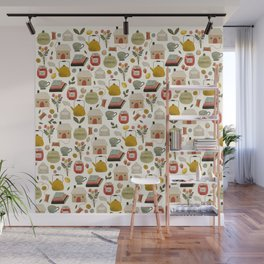 Summer Cottage Days Wall Mural