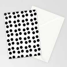 Copijn Black & White Dots Stationery Cards