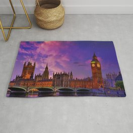 Houses of Parliament - London Rug