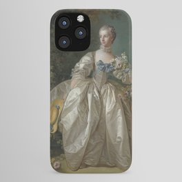 François Boucher - Madame Bergeret iPhone Case