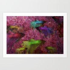 Beta Color Test Art Print