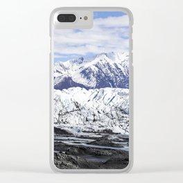 Matanusk Glacier Alaska Clear iPhone Case