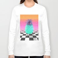 pineapple Long Sleeve T-shirts featuring Pineapple by Danny Ivan