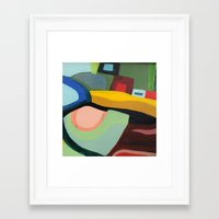 community Framed Art Prints featuring the community by sylvie demers