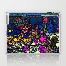 Stained Glass Jewels Laptop & iPad Skin