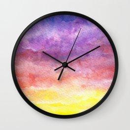Magic Hour Wall Clock