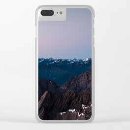 Zugspitze, Germany Clear iPhone Case