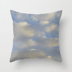 Cloudy Days Throw Pillow