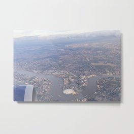 London From The Air Metal Print