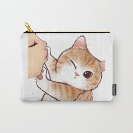 want to kiss Carry-All Pouch